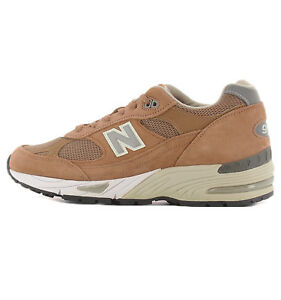new balance marrone uomo 991