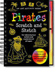 Sketch and Scratch Pirates by Peter Pauper Press (Spiral bound, 2007)