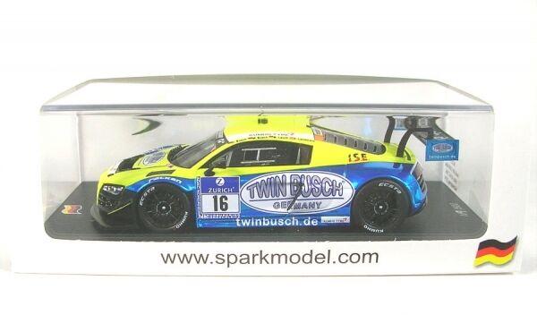 Audi R8 lms Ultra no.16 - 10th adac 24H nürburgring 2014 (d.busch - m.busch - m