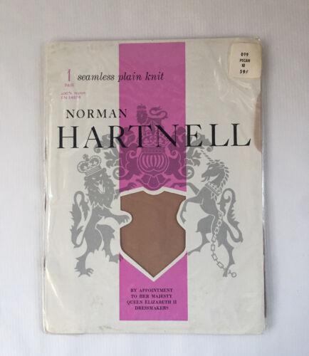 Vintage Norman Hartnell Nylon Stockings Seamless P