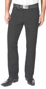 PADDOCKS-Jeans-W-44-L-30-RANGER-STRETCH-Black-Black-SCHWARZ-NEUWARE