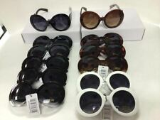 Wy034 Most Popular DESIGNER Style Women Rounded Sunglasses Wholesale 12 Pair