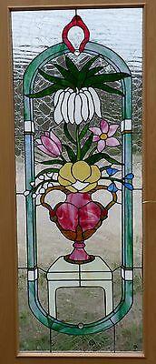 Bleiverglasung Bleiglas Tür- Mosaikverglasung mit edlen Gläsern in Tiffany