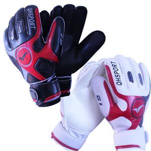 Latex-Goalkeeper-Gloves-Roll-Finger-Football-Soccer-Goalie-Keeper-Gloves-Size-9