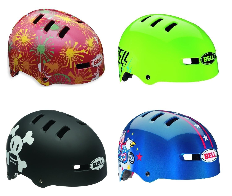 Bell Frazione bambini casco per bicicletta bici BMX Pattini in linea SKATER Paul