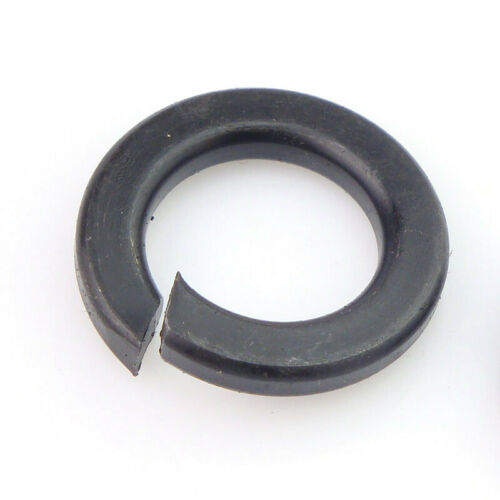 American Standard Black Spring Washer Carbon Steel Springs Piece 1//4 5//16 3//8