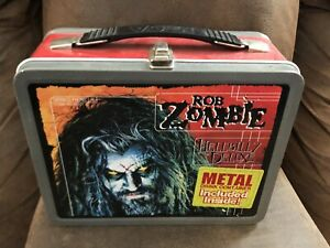 2001-NECA-Rob-Zombie-Hellbilly-Deluxe-Metal-Lunch-Box-with-Thermos-Winterland