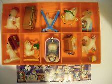 I Fosforescenti Fantasmini Kinder sorpresa dipinti a mano 10 personaggi  (MQX)