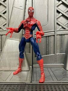 Marvel-Legends-Hasbro-Spider-Man-3-Movie-SPIDER-MAN-5-034-inch-Action-Figure-9