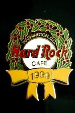 HRC Hard Rock Cafe Washington Christmas 1999 Wreath