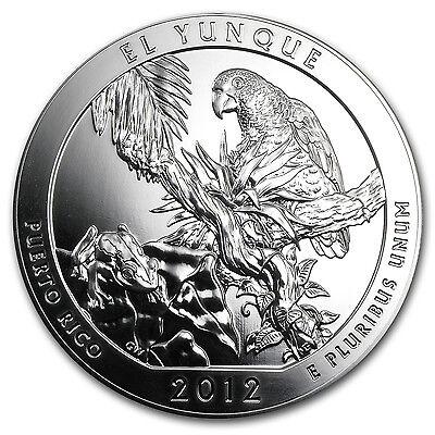 2012 5 oz Silver ATB El Yunque National Park, Puerto Rico - SKU #67056