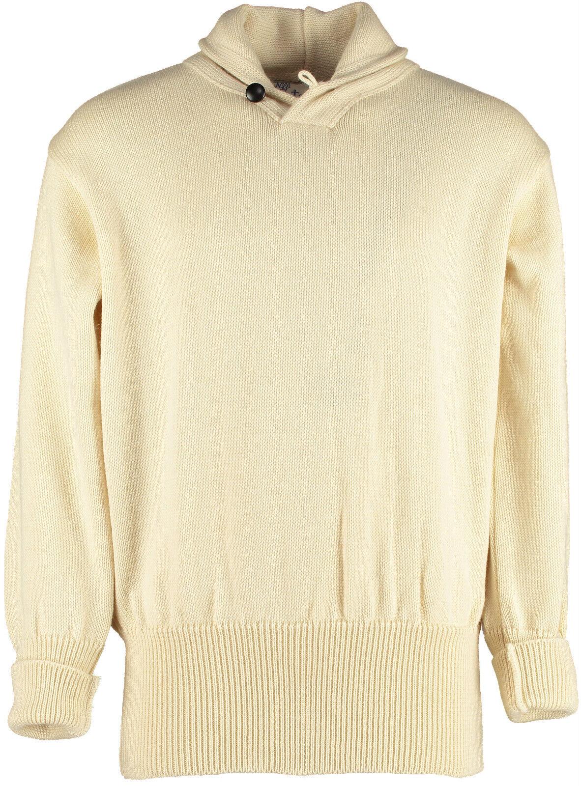Faslane Classic Seaman's Shawl Collar Sweater  41103