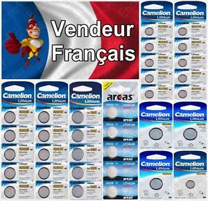 Piles-boutons-Lithium-3V-Au-choix-CR2032-CR2025-CR2016-CR1632-CR1620-CR1616