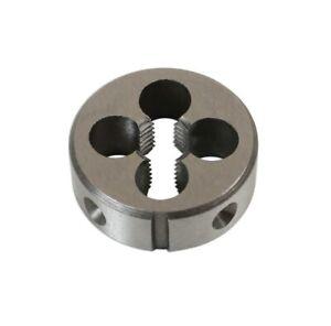 Pour cage Ø 38 mm DIN223 Filière à main HSS pas mètrique M12 x 1 mm