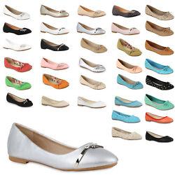 Damen Ballerinas Größen 36-43 Top Slipper Schuhe 94451 New Look