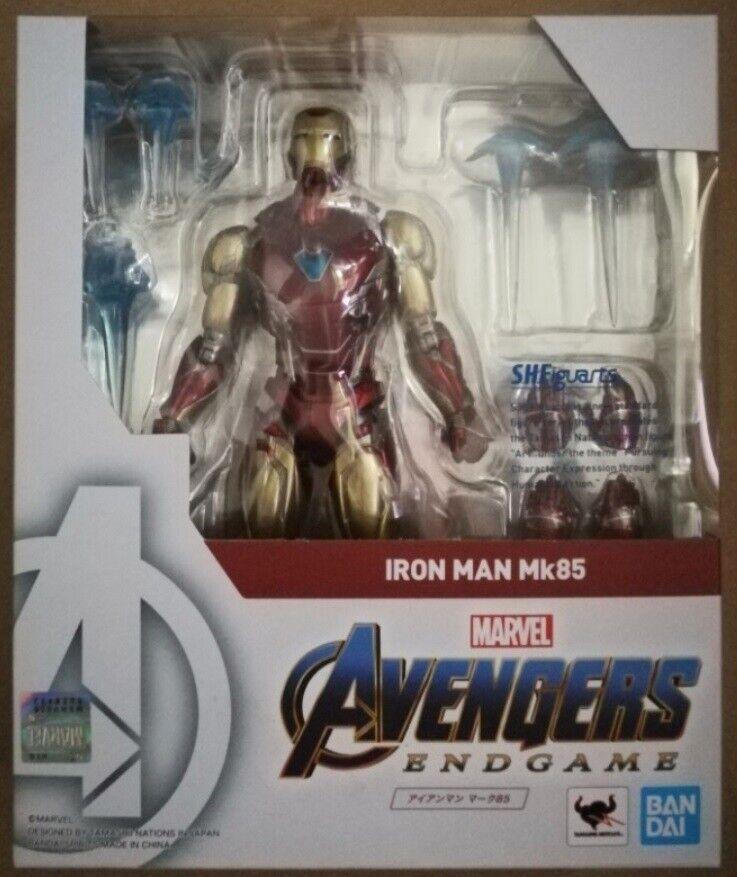 Seleccione de las marcas más nuevas como S.H. Figuarts Marvel Iron Man Mark 85 MK85 MK85 MK85 Mk 85 Figura Los Vengadores Tacho En Stock  entrega rápida