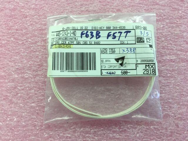5PCS TDK C1005C0G1H1R8CT000F Ceramic Capacitor NP0 0402 1.8pF ±0.25pF 50V C0G