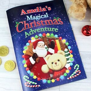 personalised childrens story magical christmas adventure story