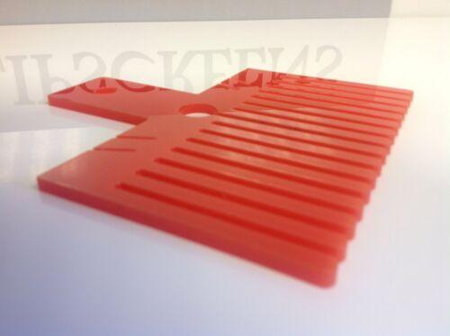 profond fabriqué au royaume-uni rouge largeur 15.5cm 9cm Artisanat bow maker double bow maker nouveau