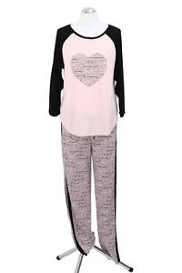 DKNY Pyjama Femmes Pyjama-sets S rose pyjama lingerie de nuit nouveau 36