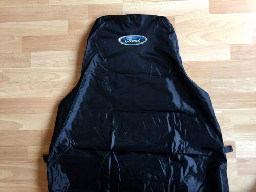 Extra Heavy Duty FORD TRANSIT CUSTOM MK8 Van Seat Cover Protector Black