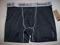 Reebok Underwear Men Performance Boxer Brief Select S M L Xl Bright Wht Gray