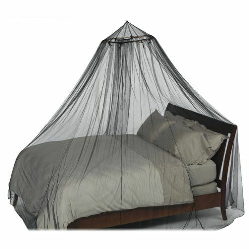 Black Mosquito Net Bed Canopy Double King Queen Size - 12 Meters Full Coverage | eBay  sc 1 st  eBay & Black Mosquito Net Bed Canopy Double King Queen Size - 12 Meters ...