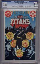 New Teen Titans Annual (Vol. 1) #2 - CGC Graded 9.8 - 1st Vigilante