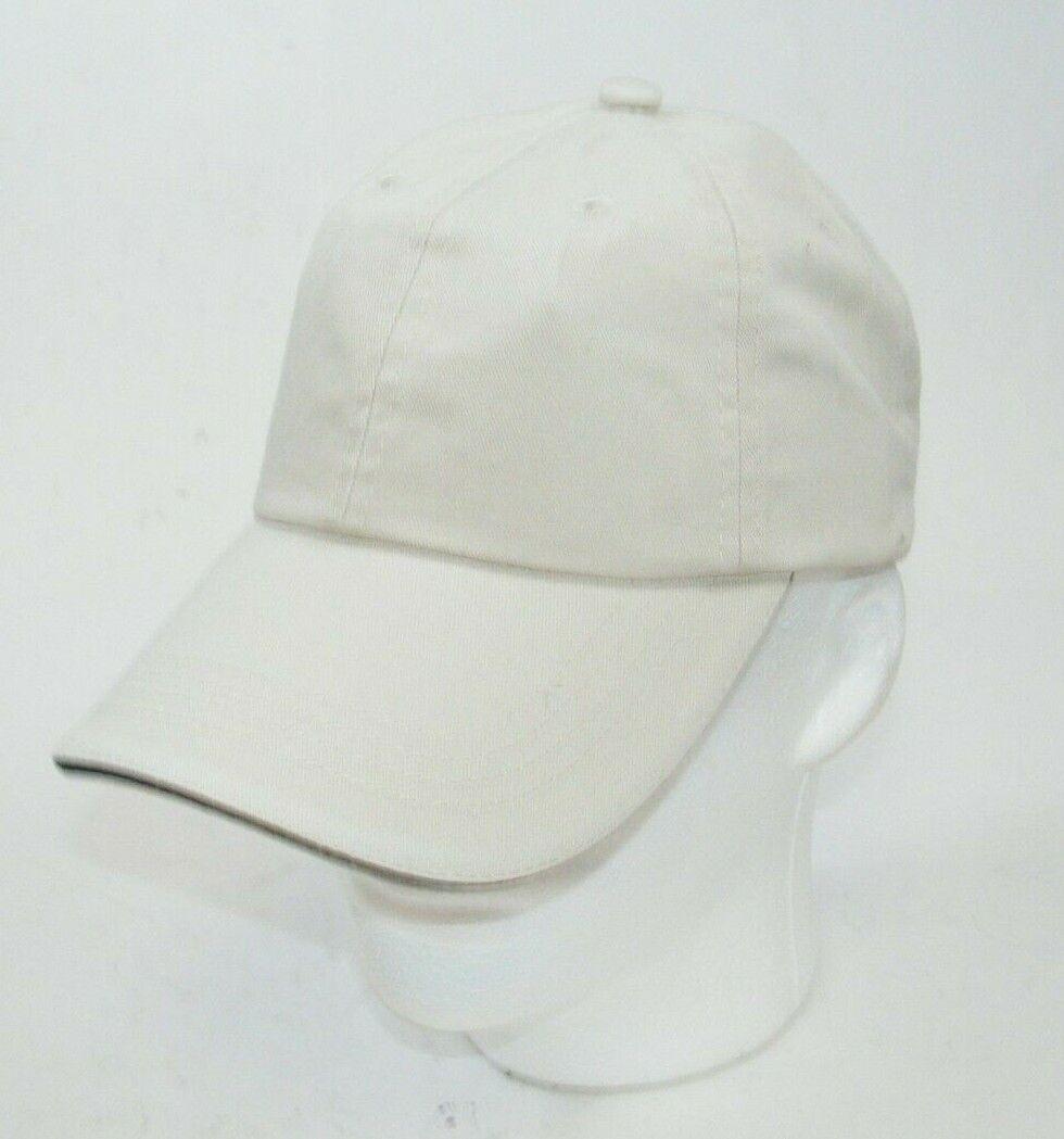 (10) PORT AUTHORITY STONE WITH BLACK STRIPE CLOSURE C830 SANDWICH BILL CAPS HATS