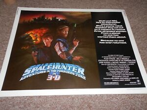 SPACEHUNTER-1983-MOLLY-RINGWALD-1-2-SHEET-POSTER-ROLLED