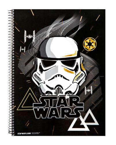 Star Wars Collegeblock DIN A4 kariert 80 Blatt Schreibblock Notizblock gelocht