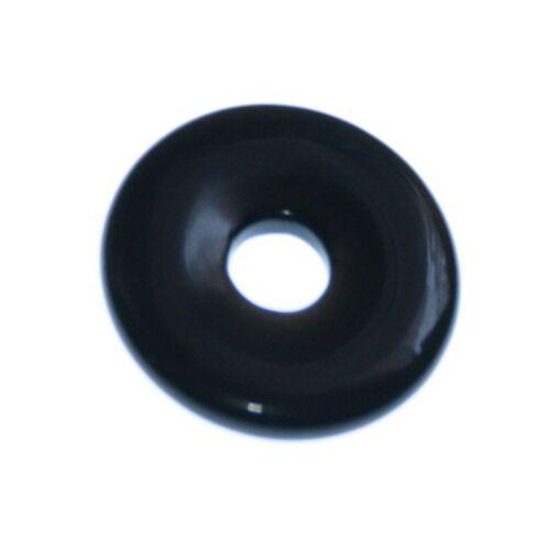 Obsidian 1 Donut ca.30 mm``Mineralien Stein Schmuck Deko Fossilien Schön