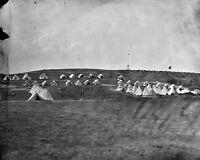 8x10 Civil War Photo: United States Signal Corps Camp Near Georgetown