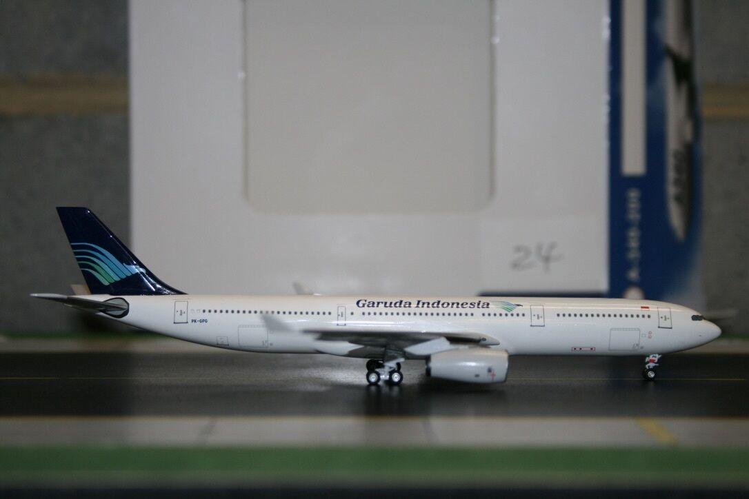 Aeroclassics 1:400 Garuda Indonesia Airbus A330-300 PK-GPG  ACPKGPG  Model Plane
