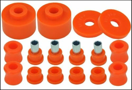 Triumph Herald Rear Kit Suspension Bushes in Poly
