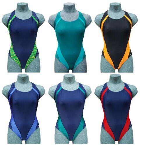 Chex Donne Ragazze Maldive Retro Sportivo Tuta Costume da bagno Poliammide Elastan
