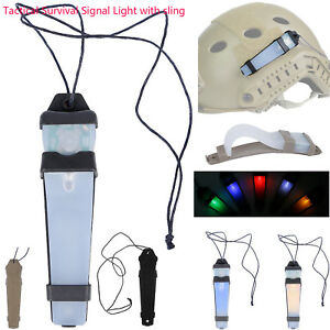 Tactical Survival Safety Flash Signal Light Strobe Light Helmet LED Airsoft MV