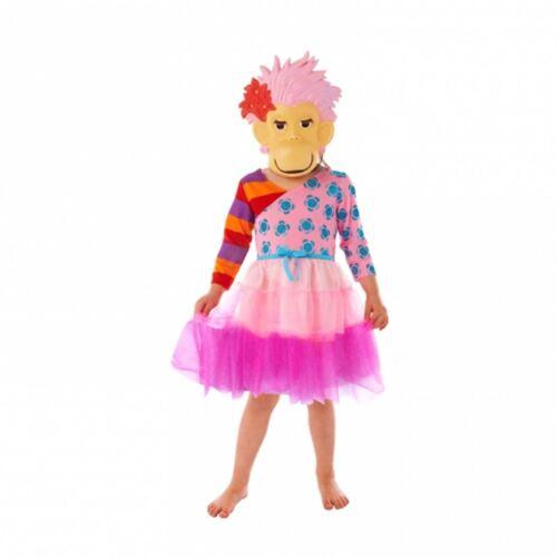 Book Week Dress Up Zingzillas Panzee Zak Costume with Mask Fancy Dress CBBC Kids