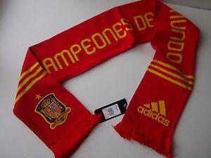 Echarpe-034-Adidas-Espagne-034-Neuve-Etiquetee