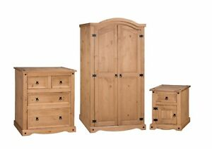 Corona-Bedroom-Set-Arch-Top-3-Piece-Package-Mexican-Solid-Pine-Mercers-Furniture