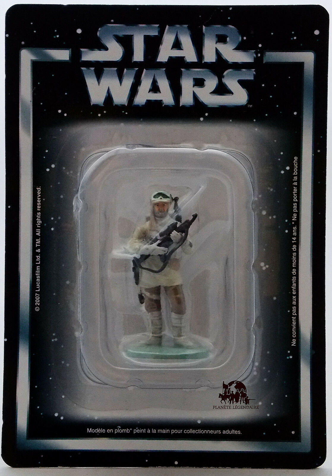 StarWars collection : Figurine collection Atlas STAR WARS Soldat Rebelle HOTH Empire contre Attaque