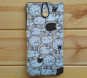 FOR-HTC-ONE-X-ONE-M7-HANDMADE-PHONE-CASE-FABRIC-AND-SMALL-POCKET-SHEEPS