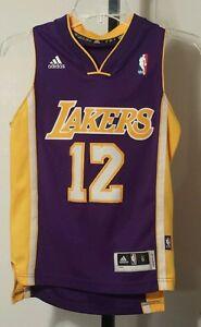 22600f71e5da Los Angeles Lakers  12 Dwight Howard NBA Adidas Jersey Size Youth ...