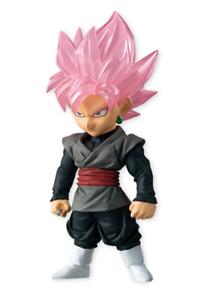 Bandai Dragon Ball Super Saiyan Adverge 4 Goku Black Rose Candy Toy Figure
