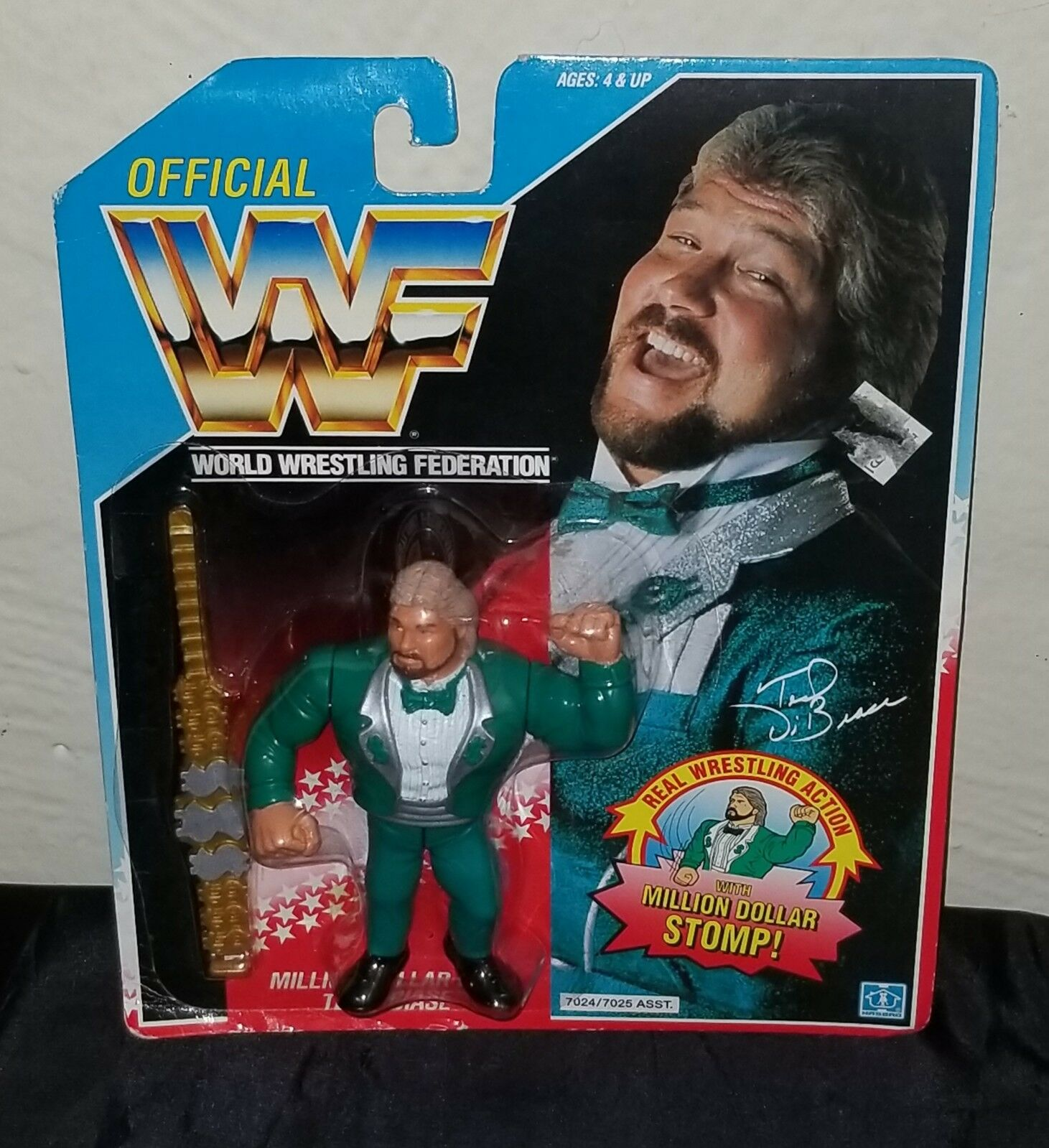 WWF Hasbro Ted DiBiase MOC