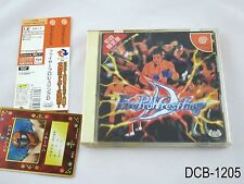Fire Pro Wrestling D Japanese Import Dreamcast JP Japan Sega DC US Seller B
