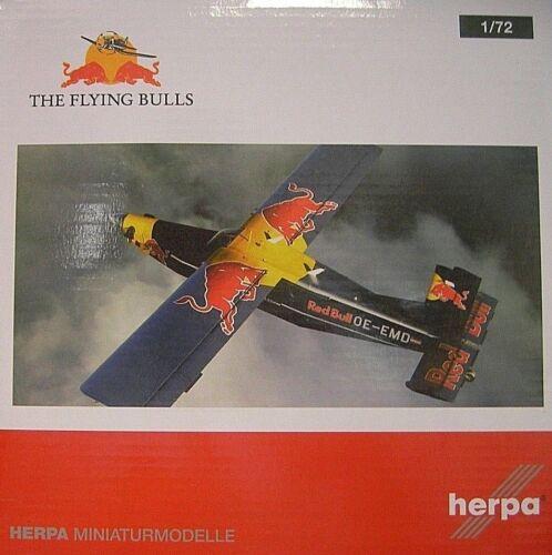 Herpa Wings 1:72 Pilato pc-6 Turbo PORTER the Flying Bulls OE-EMD 580304
