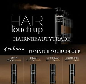 L Oreal Professionnel Hair Touch Up 75ml Root Concealer Spray Ebay