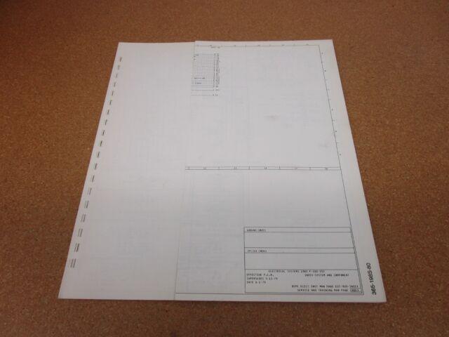 1980 Ford F100 F150 F250 pickup wiring diagram schematic ...