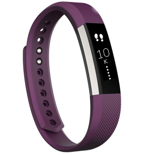 Fitbit Alta Fitness Wristband Activity Tracker Black Teal Pink Plum Blue